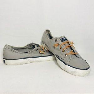 Sperry Gray Deck Sneaker